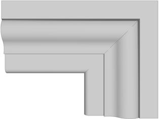 Cornici decorative in polistirolo per interni pannelli for Cornici decorative polistirolo